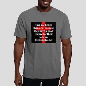 Ecclesiastes 4-9 Mens Comfort Colors Shirt