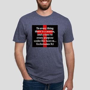 Ecclesiastes 3-1 Mens Tri-blend T-Shirt