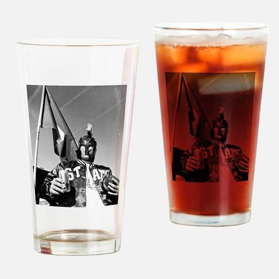 Enlightened Spartan Drinking Glass