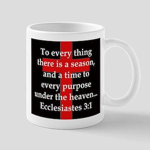 Ecclesiastes 3-1 11 oz Ceramic Mug