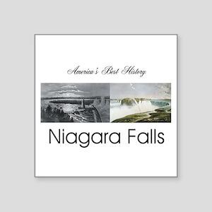 "ABH Niagara Falls Square Sticker 3"" x 3"""