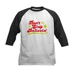 Dont Stop Believin Baseball Jersey