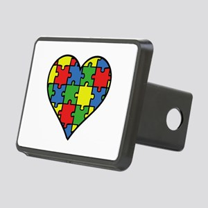 Autism Puzzle Rectangular Hitch Cover