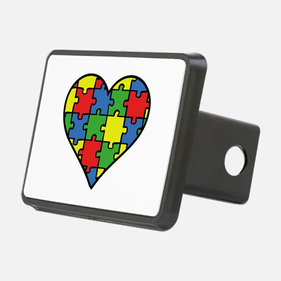 Autism Puzzle Hitch Cover