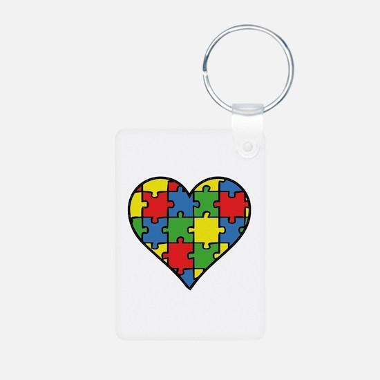 Autism Puzzle Keychains