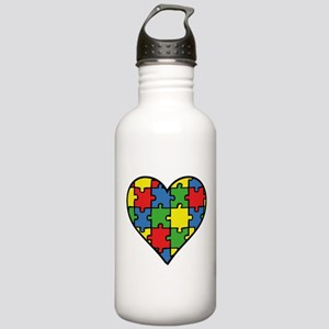 Autism Puzzle Stainless Water Bottle 1.0L
