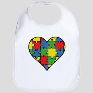 Autism Puzzle Bib