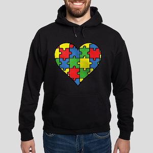 Autism Puzzle Hoodie (dark)