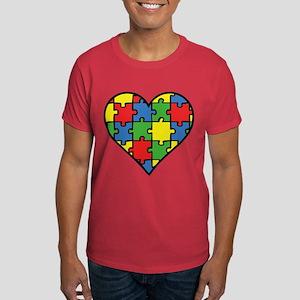 Autism Puzzle Dark T-Shirt