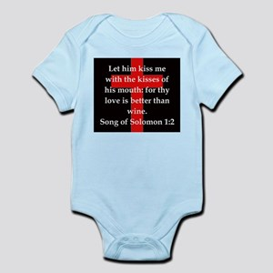 Song of Solomon 1:2 Infant Bodysuit