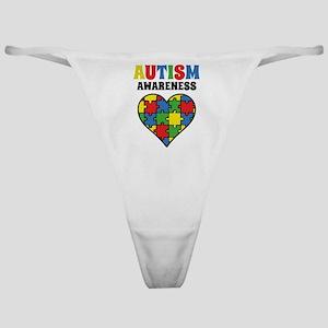 Autism Puzzle Classic Thong