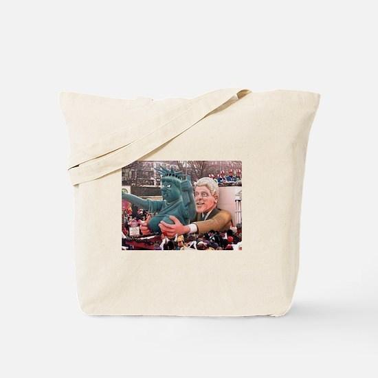Clinton Politics Tote Bag
