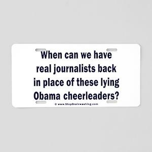 Obama Cheerleaders DO Suck. Aluminum License Plate