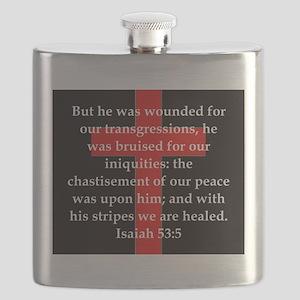 Isaiah 53:5 Flask
