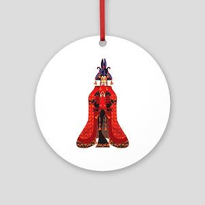 Quan Yin Ornament (Round)