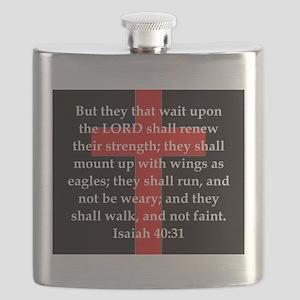Isaiah 40:31 Flask