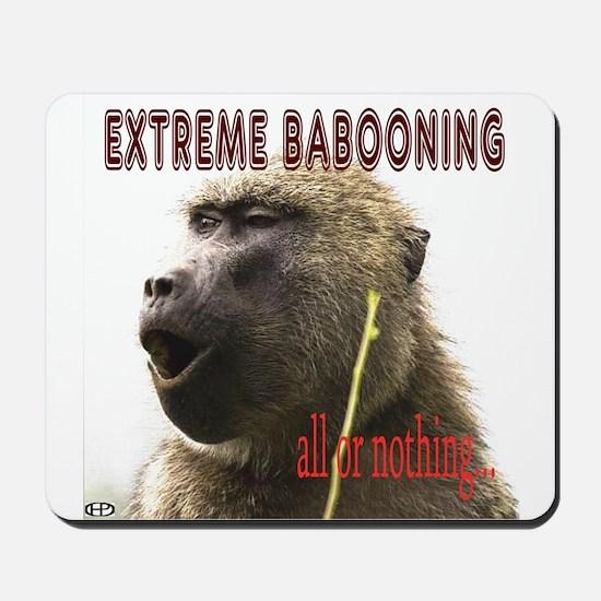 Extreme Babooning Mousepad