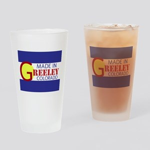 MADE IN GREELEY Drinking Glass