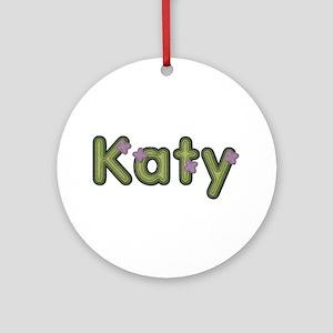 Katy Spring Green Round Ornament