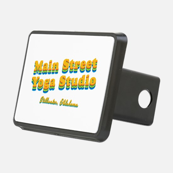 "Main Street Yoga Studio ""Retro Rainbow"" Rectangula"