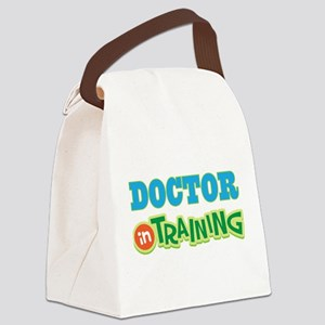 Doctor In Training Canvas Lunch Bag