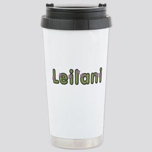 Leilani Spring Green Stainless Steel Travel Mug