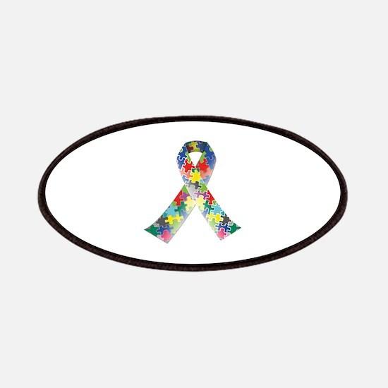Autism Awareness Ribbon Patches