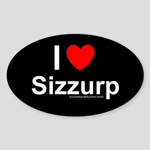 Sizzurp Sticker (Oval)