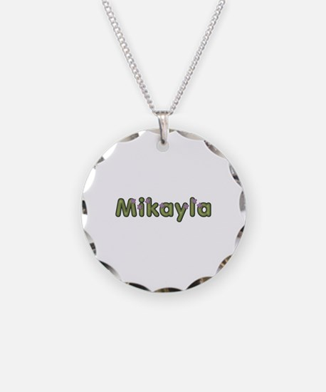 Mikayla Spring Green Necklace