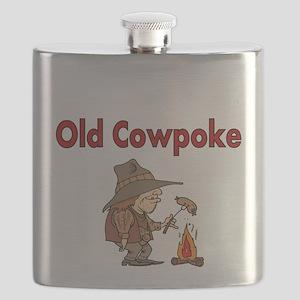 Old Cowpoke Flask
