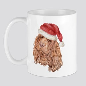 Christmas Sussex Spaniel Mug