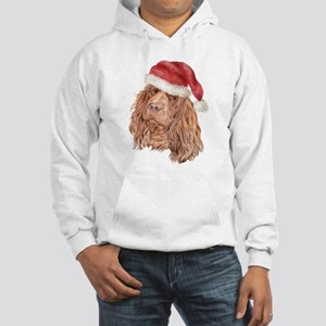 Christmas Sussex Spaniel Hooded Sweatshirt