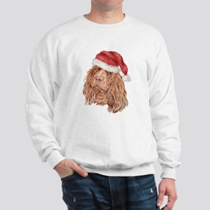 Christmas Sussex Spaniel Sweatshirt