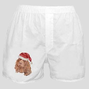Christmas Sussex Spaniel Boxer Shorts