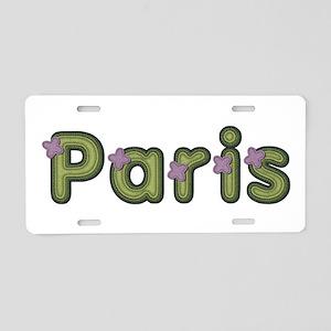Paris Spring Green Aluminum License Plate