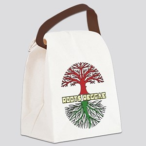 Roots Reggae Designs-9 Canvas Lunch Bag