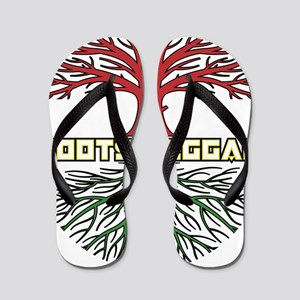 Roots Reggae Designs-9 Flip Flops