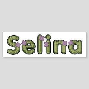 Selina Spring Green Bumper Sticker