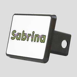 Sabrina Spring Green Rectangular Hitch Cover