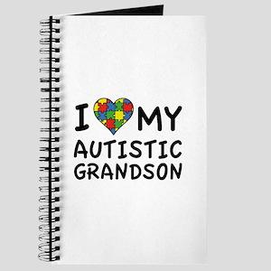 I Love My Autistic Grandson Journal