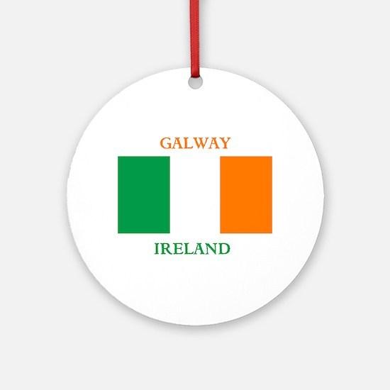Galway Ireland Ornament (Round)