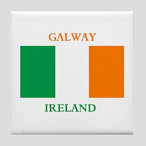 Galway Ireland Tile Coaster