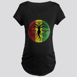 Roots Reggae Designs-3 Maternity T-Shirt