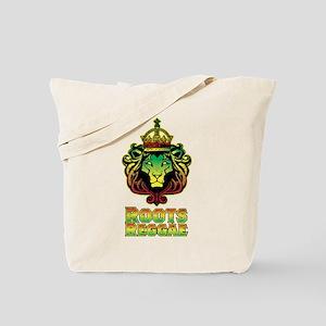 Roots Reggae Lion Tote Bag