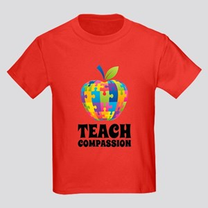 Teach Compassion Kids Dark T-Shirt