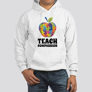 Teach Compassion Hooded Sweatshirt