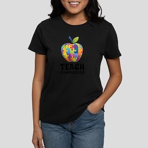 Teach Compassion Women's Dark T-Shirt