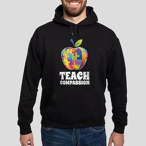 Teach Compassion Hoodie (dark)