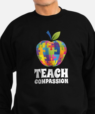 Teach Compassion Sweatshirt (dark)