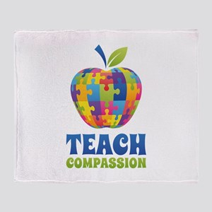 Teach Compassion Stadium Blanket